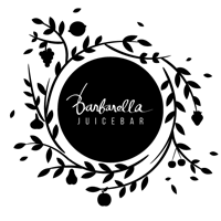 Logotip Barbarella Juicebar